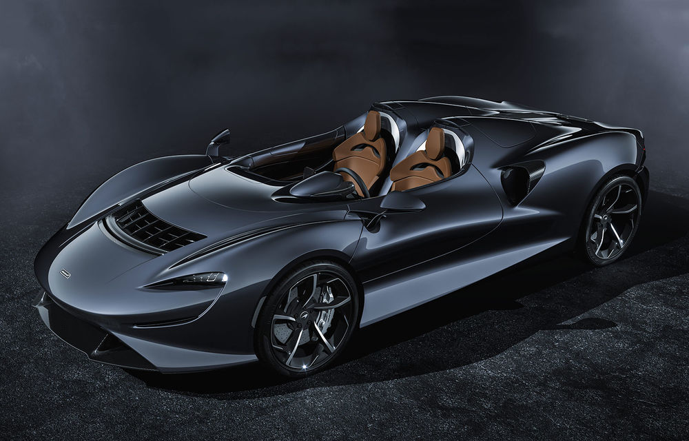 McLaren a prezentat noul hypercar Elva: motor V8 cu 815 cai putere, 0-200 km/h în 6.7 secunde și producție limitată la 399 de unități - Poza 1
