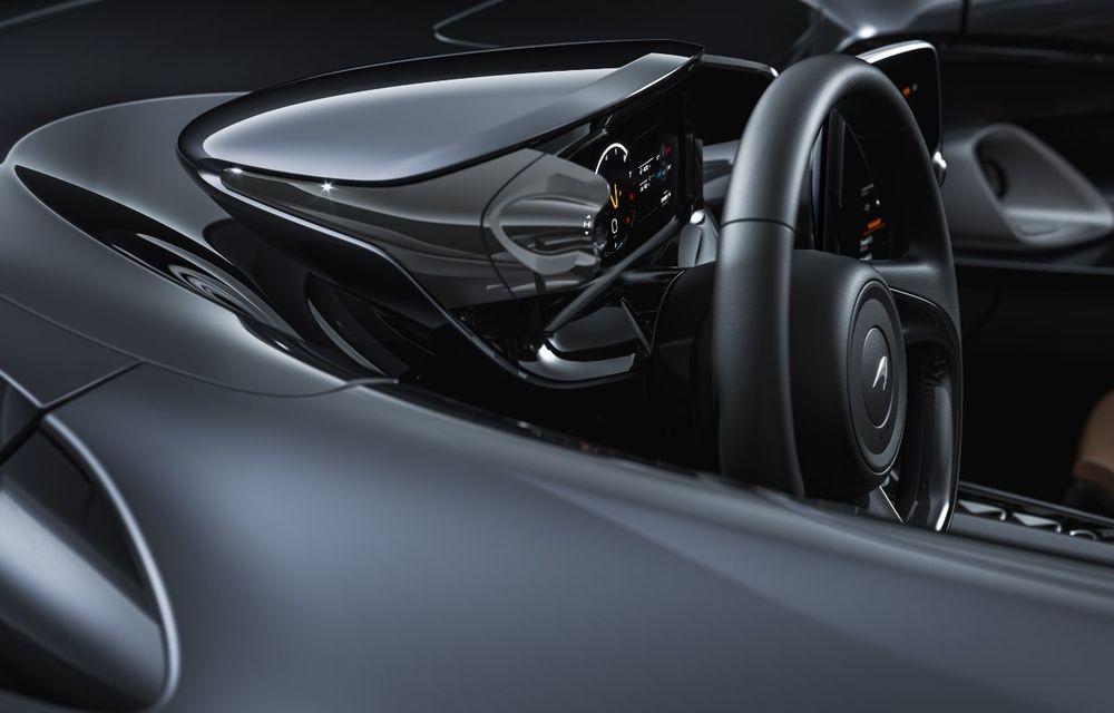 McLaren a prezentat noul hypercar Elva: motor V8 cu 815 cai putere, 0-200 km/h în 6.7 secunde și producție limitată la 399 de unități - Poza 6