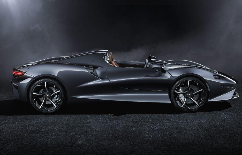 McLaren a prezentat noul hypercar Elva: motor V8 cu 815 cai putere, 0-200 km/h în 6.7 secunde și producție limitată la 399 de unități - Poza 3