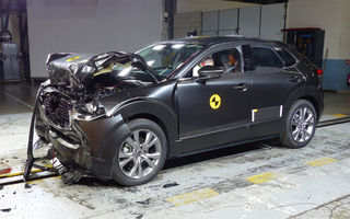 Mazda CX-30 impresionează în testele Euro NCAP: 5 stele și calificativ 99% pentru protecția adulților. Opel Corsa a primit doar 4 stele