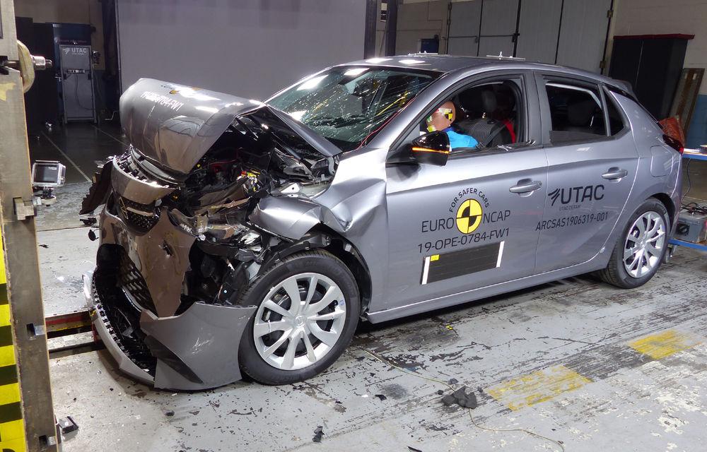 Mazda CX-30 impresionează în testele Euro NCAP: 5 stele și calificativ 99% pentru protecția adulților. Opel Corsa a primit doar 4 stele - Poza 4