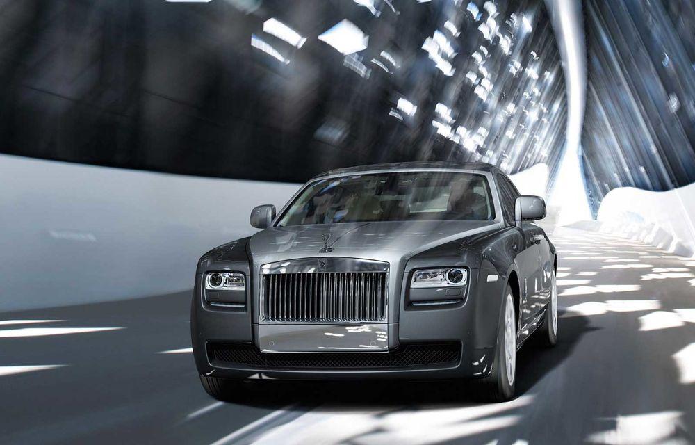 Rolls-Royce anunță încetarea producției pentru actualul Ghost: o nouă generație a modelului este așteptată în 2020 - Poza 1