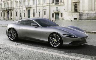 Ferrari prezintă noul coupe Roma: motor turbo V8 de 3.9 litri și 620 de cai putere