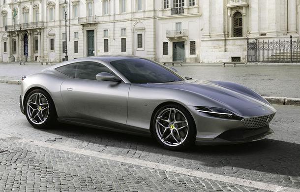 Ferrari prezintă noul coupe Roma: motor turbo V8 de 3.9 litri și 620 de cai putere - Poza 1