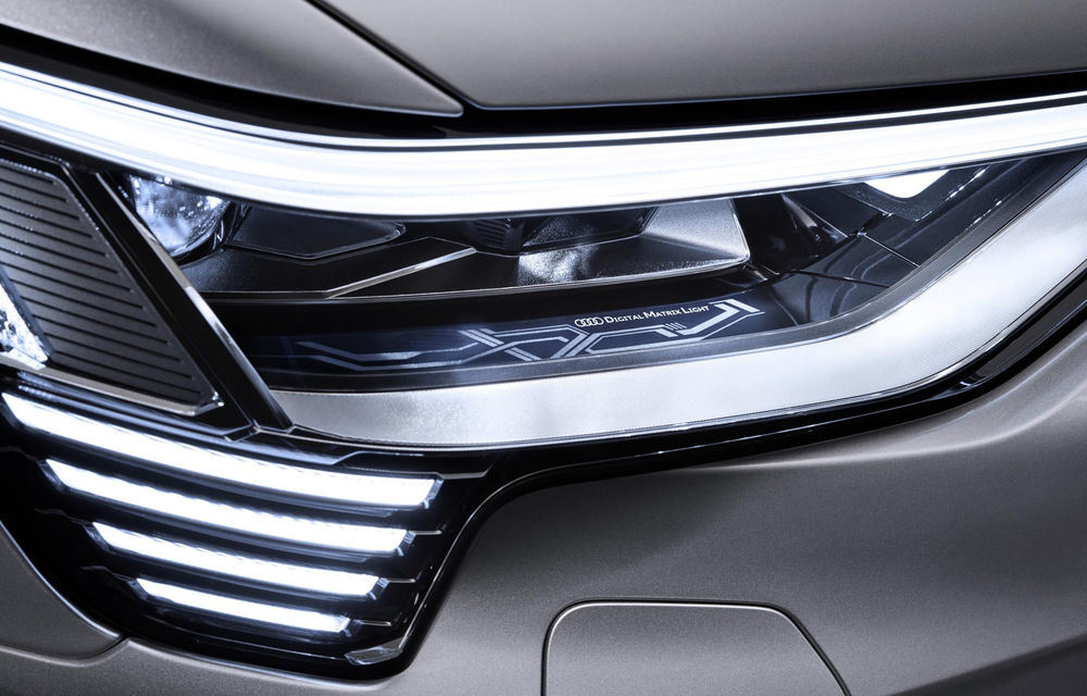 Audi e-tron Sportback va fi prezentat în 20 noiembrie: SUV-ul electric va avea 360 CP și o nouă tehnologie pentru faruri - Poza 1
