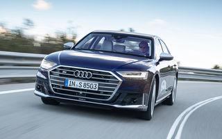 Informații suplimentare despre noul Audi S8: 571 de cai putere și accelerație de la 0 la 100 km/h în 3.8 secunde
