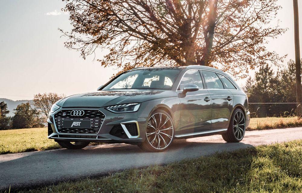 ABT a pregătit un kit de performanță pentru Audi S4 Avant TDI: motorul diesel dezvoltă acum 384 de cai putere - Poza 1