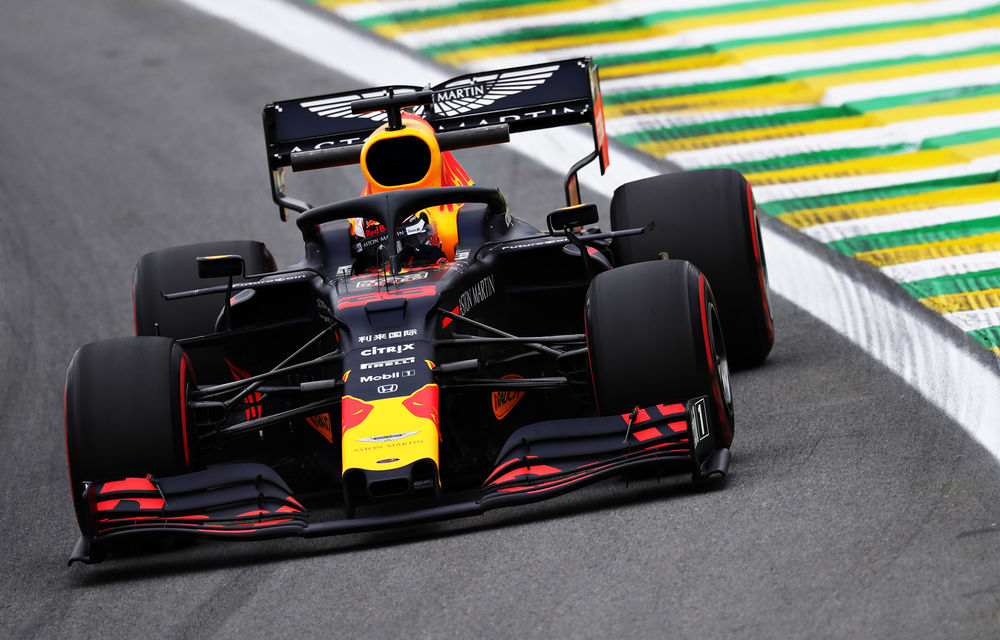Verstappen va pleca din pole position în Marele Premiu al Braziliei din fața lui Vettel și Hamilton - Poza 1