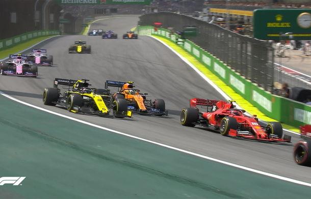 Verstappen a câștigat la Interlagos! Leclerc și Vettel au abandonat după un acroșaj în finalul cursei - Poza 3