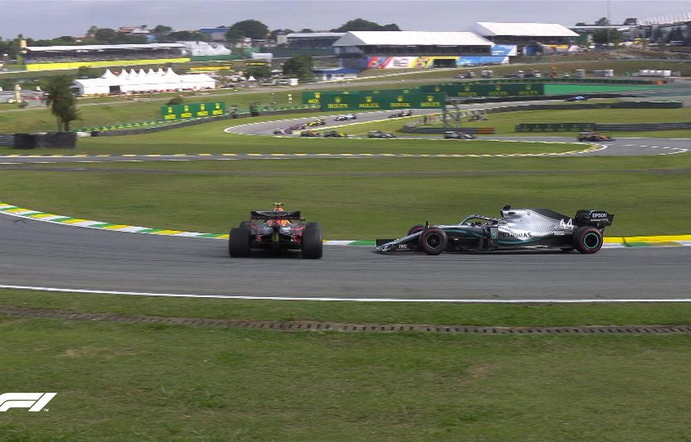 Verstappen a câștigat la Interlagos! Leclerc și Vettel au abandonat după un acroșaj în finalul cursei - Poza 6