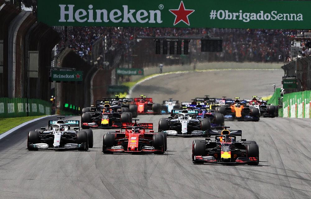 Verstappen a câștigat la Interlagos! Leclerc și Vettel au abandonat după un acroșaj în finalul cursei - Poza 1
