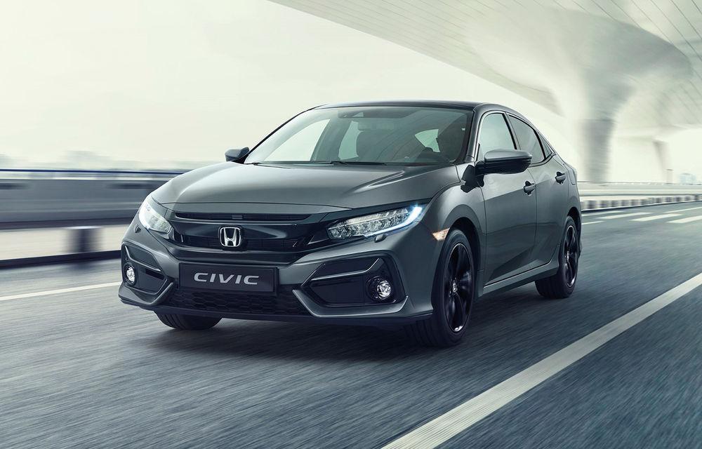 Honda Civic primește un facelift discret: modificări minore de design și aceeași gamă de motoare - Poza 1