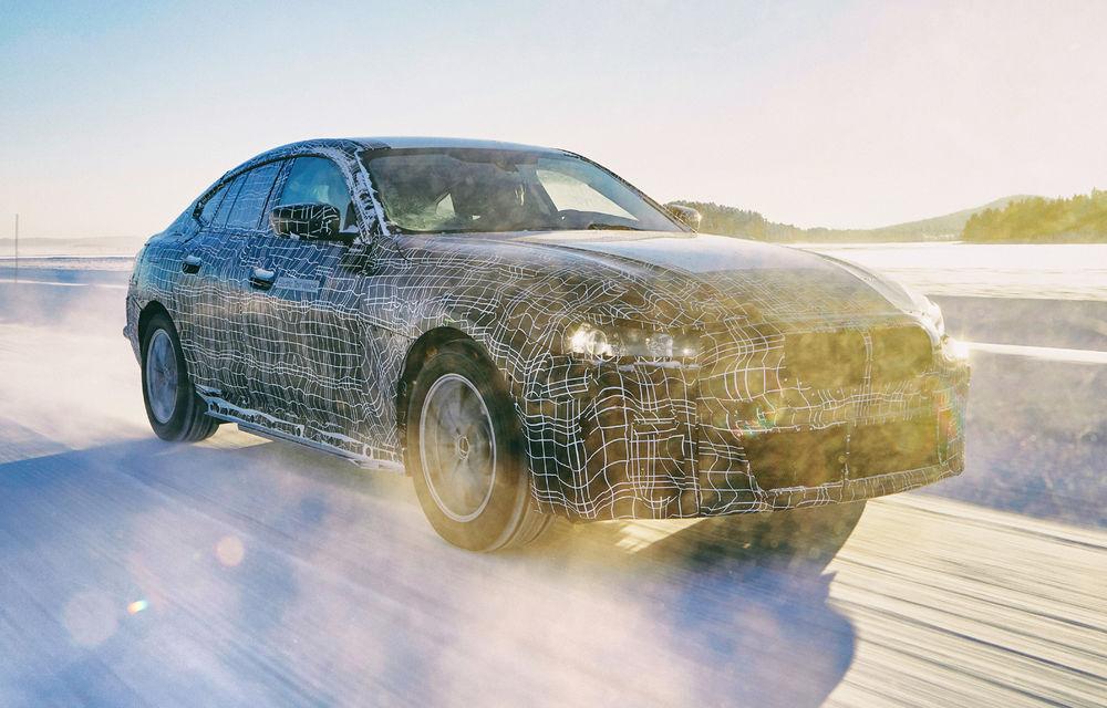 Informații oficiale despre viitorul BMW i4: putere maximă de aproximativ 530 CP și autonomie de până la 600 de kilometri - Poza 1