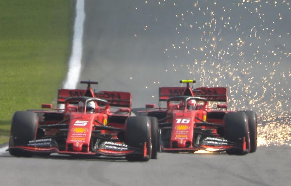 """Efectele incidentelor din Brazilia: Hamilton a pierdut podiumul. Nicio acțiune împotriva lui Leclerc și Vettel după un duel """"prostest"""" - Poza 1"""