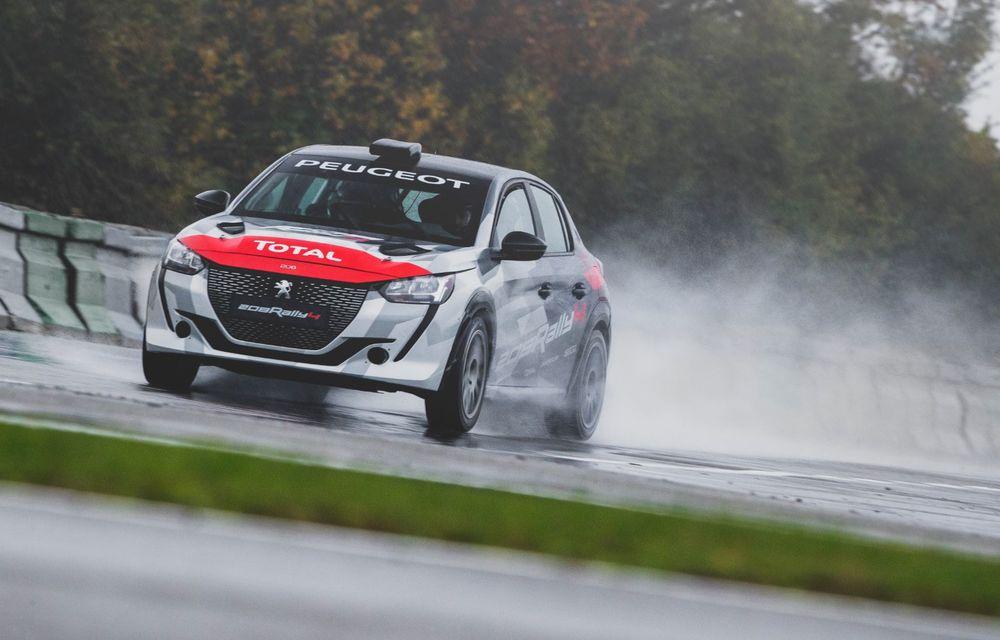 Peugeot a prezentat noul 208 Rally 4: modelul destinat raliurilor oferă 208 CP și debutează la finalul lunii noiembrie - Poza 2