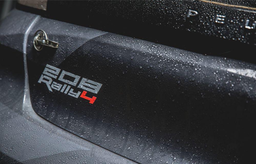 Peugeot a prezentat noul 208 Rally 4: modelul destinat raliurilor oferă 208 CP și debutează la finalul lunii noiembrie - Poza 6