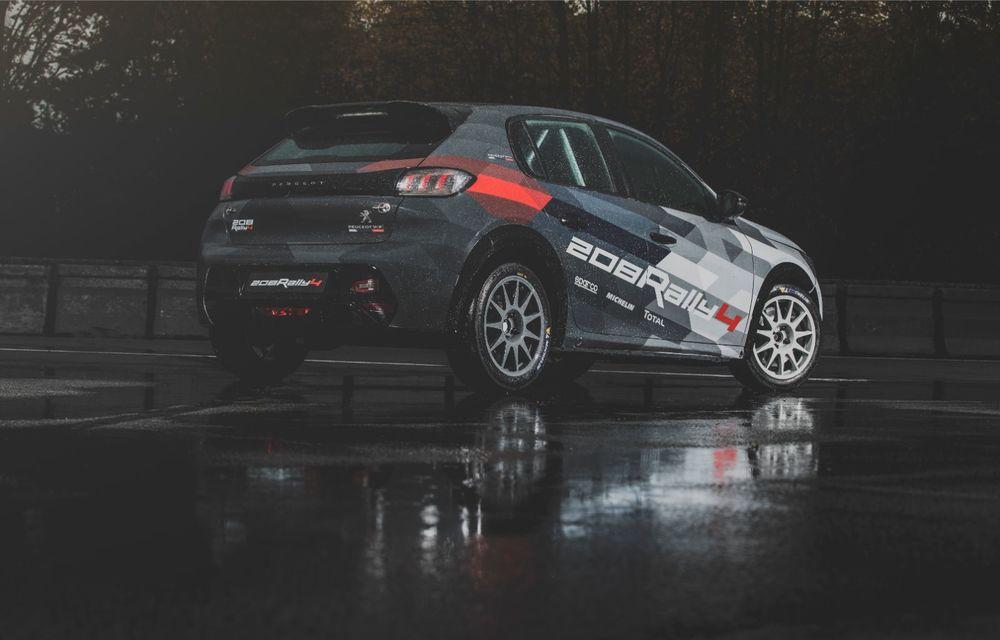 Peugeot a prezentat noul 208 Rally 4: modelul destinat raliurilor oferă 208 CP și debutează la finalul lunii noiembrie - Poza 5