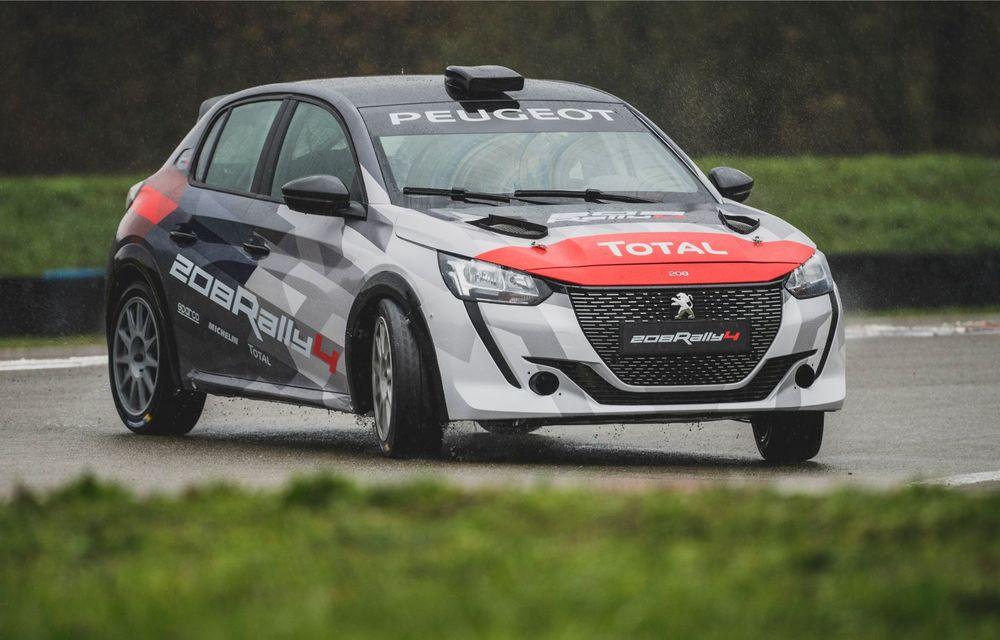 Peugeot a prezentat noul 208 Rally 4: modelul destinat raliurilor oferă 208 CP și debutează la finalul lunii noiembrie - Poza 3