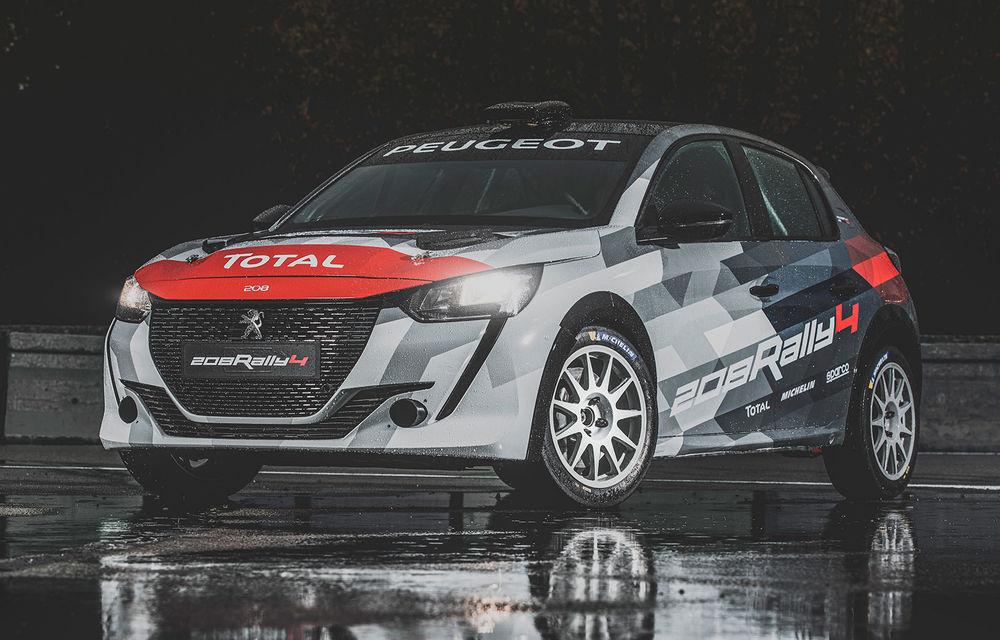 Peugeot a prezentat noul 208 Rally 4: modelul destinat raliurilor oferă 208 CP și debutează la finalul lunii noiembrie - Poza 1