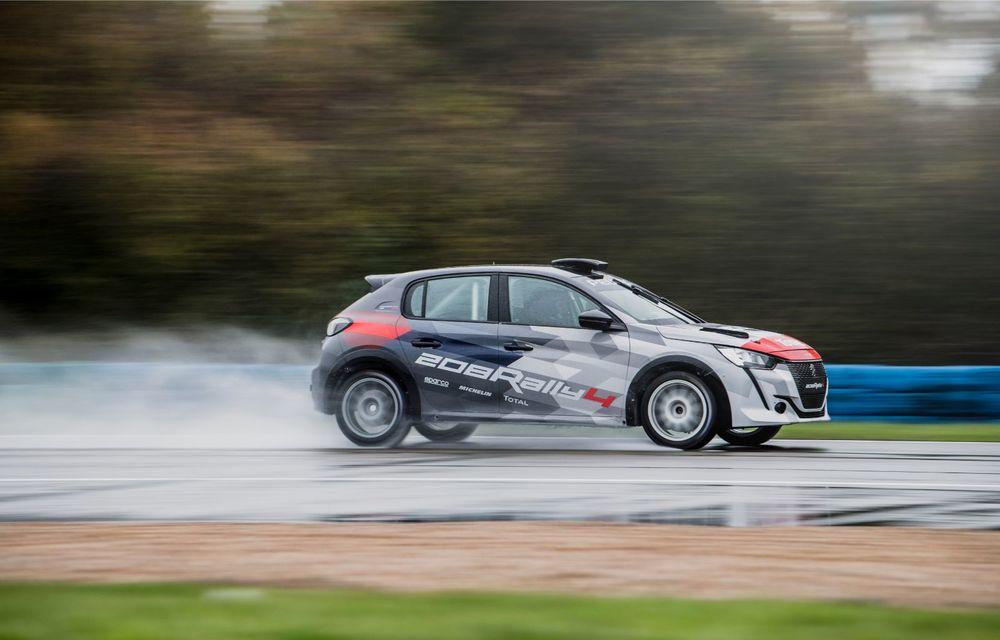 Peugeot a prezentat noul 208 Rally 4: modelul destinat raliurilor oferă 208 CP și debutează la finalul lunii noiembrie - Poza 4
