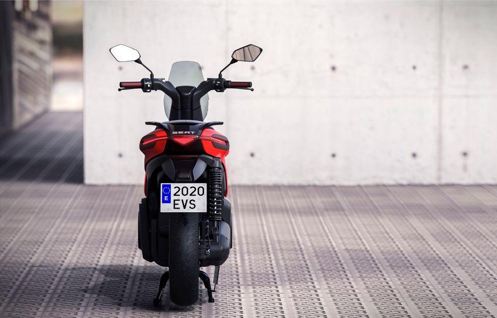"""Seat prezintă conceptul electric e-Scooter: autonomie de până la 115 km și baterie detașabilă care poate fi încărcată """"în casă"""" - Poza 7"""