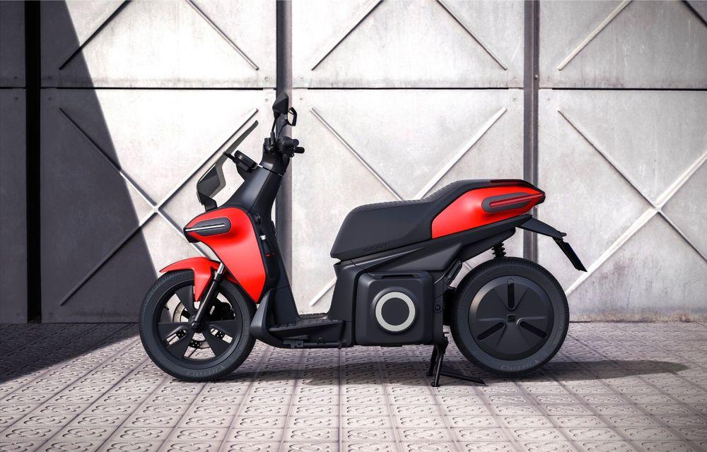 """Seat prezintă conceptul electric e-Scooter: autonomie de până la 115 km și baterie detașabilă care poate fi încărcată """"în casă"""" - Poza 10"""