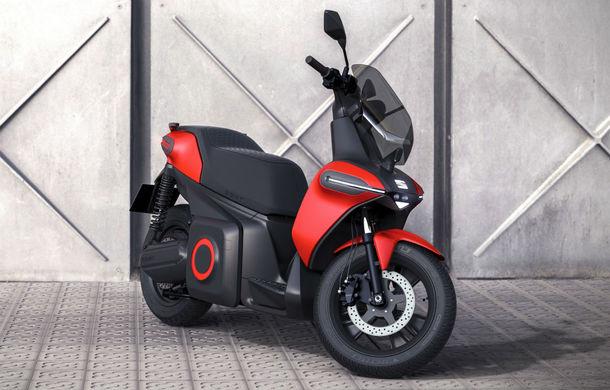 """Seat prezintă conceptul electric e-Scooter: autonomie de până la 115 km și baterie detașabilă care poate fi încărcată """"în casă"""" - Poza 1"""