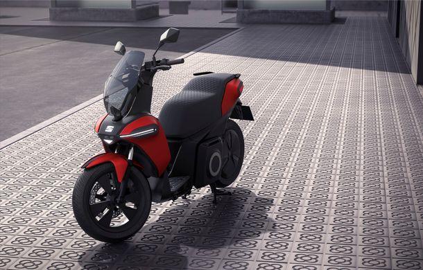 """Seat prezintă conceptul electric e-Scooter: autonomie de până la 115 km și baterie detașabilă care poate fi încărcată """"în casă"""" - Poza 5"""