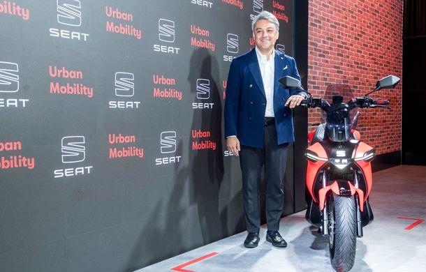 """Seat prezintă conceptul electric e-Scooter: autonomie de până la 115 km și baterie detașabilă care poate fi încărcată """"în casă"""" - Poza 4"""