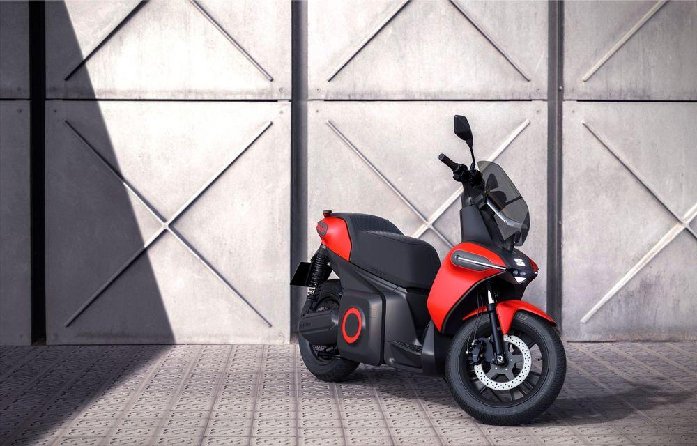 """Seat prezintă conceptul electric e-Scooter: autonomie de până la 115 km și baterie detașabilă care poate fi încărcată """"în casă"""" - Poza 2"""