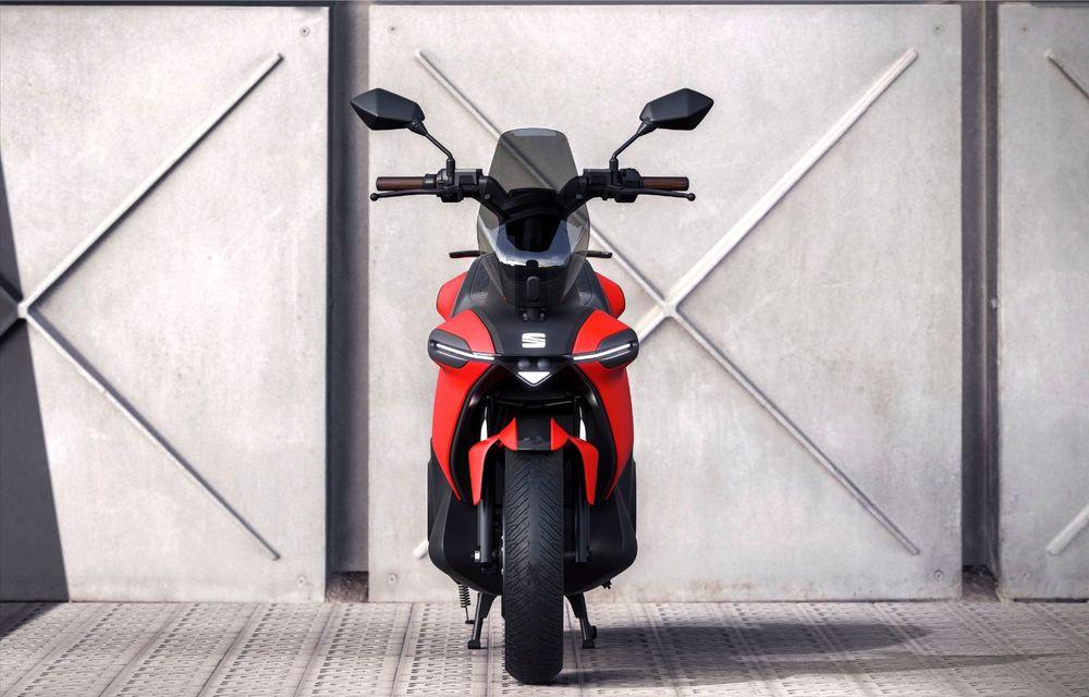 """Seat prezintă conceptul electric e-Scooter: autonomie de până la 115 km și baterie detașabilă care poate fi încărcată """"în casă"""" - Poza 3"""
