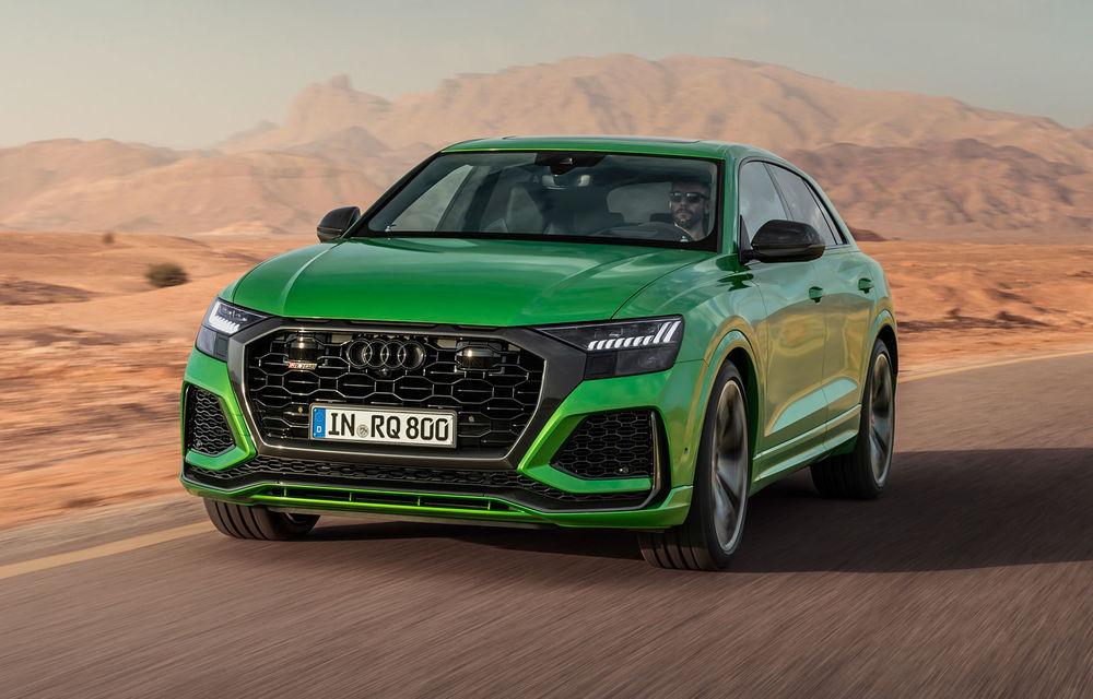 Audi a prezentat noul RS Q8: cel mai rapid SUV de serie de la Nurburgring are 600 CP și accelerează de la 0 la 100 km/h în 3.8 secunde - Poza 1