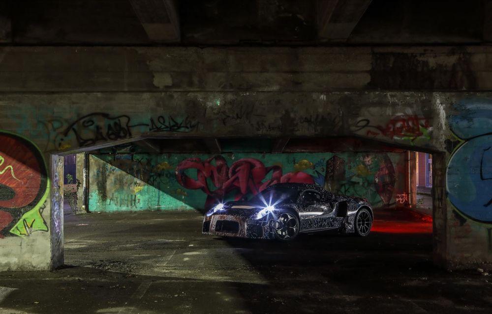 """Maserati dezvăluie imagini """"sub camuflaj"""" cu viitorul său model: lansarea este programată în mai 2020 - Poza 4"""