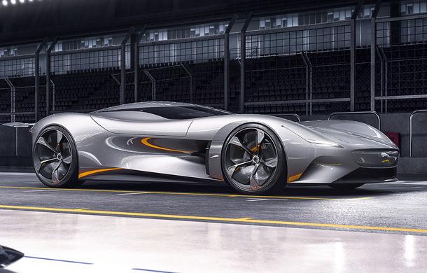 Primul teaser video cu viitorul Lamborghini Vision Gran Turismo: prototipul virtual va fi prezentat în 24 noiembrie - Poza 2