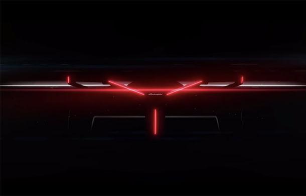 Primul teaser video cu viitorul Lamborghini Vision Gran Turismo: prototipul virtual va fi prezentat în 24 noiembrie - Poza 1