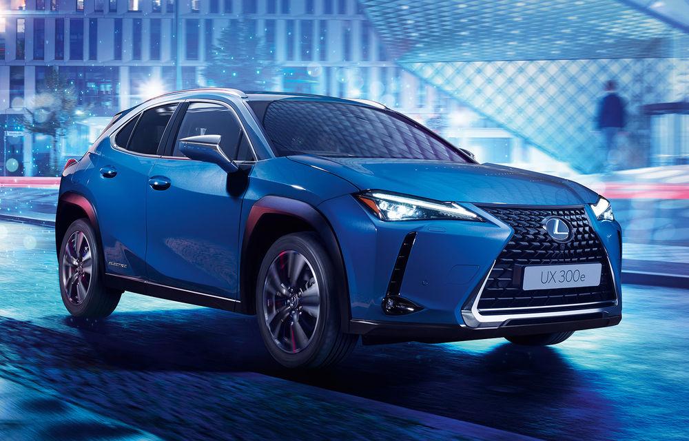Lexus a prezentat noul UX 300e: primul model electric al companiei oferă peste 200 CP și autonomie de până la 400 de kilometri - Poza 1