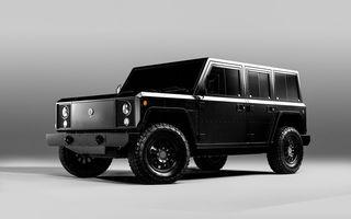 Vehiculele electrice dezvoltate de start-up-ul Bollinger vor ajunge și în Europa: americanii pregătesc un vehicul de off-road și un pick-up, ambele cu o baterie de 120 kWh