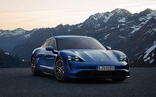 Porsche amână livrările lui Taycan: sportiva electrică va ajunge la clienți cu două luni mai târziu