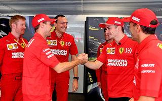 """Ferrari susține că a clarificat lucrurile între Vettel și Leclerc după acroșajul din Brazilia: """"Singurul lucru care contează este ca Ferrari să câștige"""""""