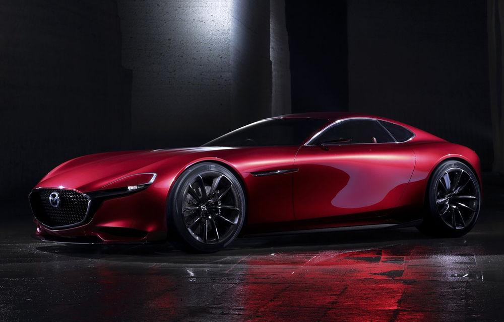 """Mazda nu renunță la """"visul"""" de la produce sportiva RX-9: """"Trebuie să combinăm motorul rotativ cu o tehnologie hibridă"""" - Poza 1"""