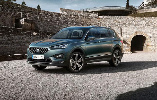Seat Tarraco primește o versiune nouă: motor pe benzină de 150 CP și cutie automată cu șapte trepte - Poza 1