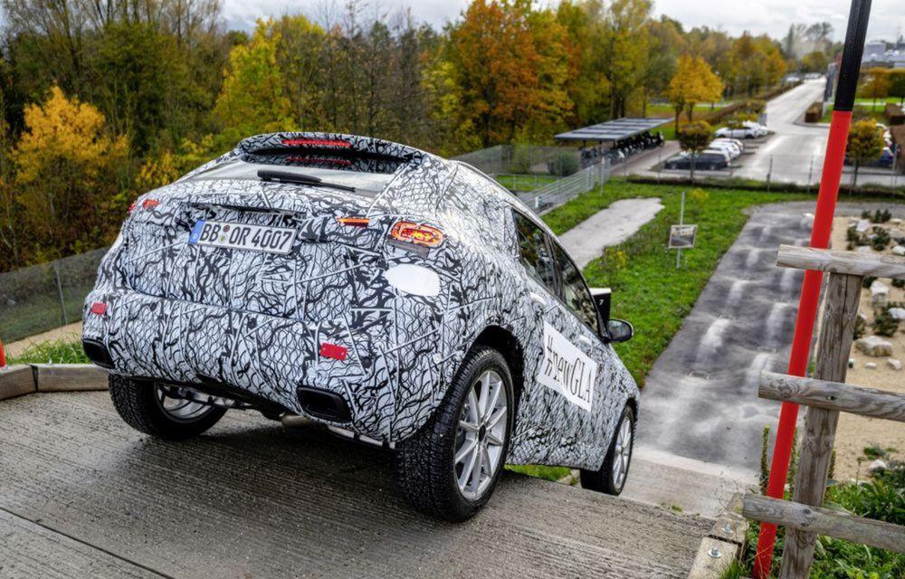 Teaser pentru noua generație Mercedes-Benz GLA: prezentare în 11 decembrie - Poza 3