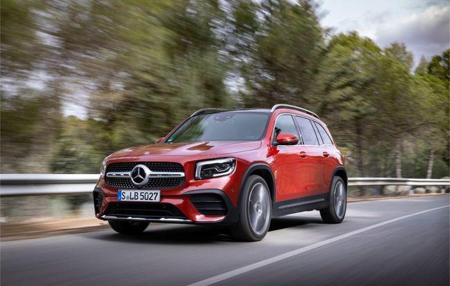 Test drive Mercedes-Benz GLB