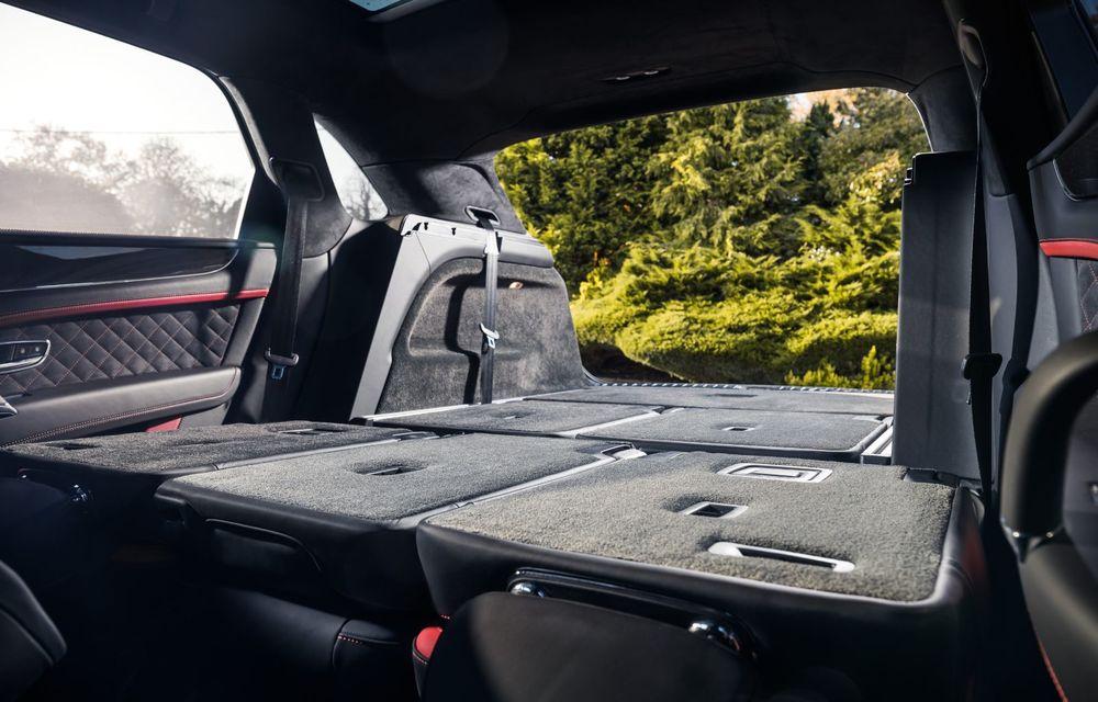 Versiuni noi pentru Bentley Bentayga: SUV-ul producătorului britanic va fi disponibil în variante cu patru sau șapte locuri - Poza 7
