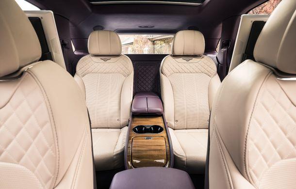 Versiuni noi pentru Bentley Bentayga: SUV-ul producătorului britanic va fi disponibil în variante cu patru sau șapte locuri - Poza 10