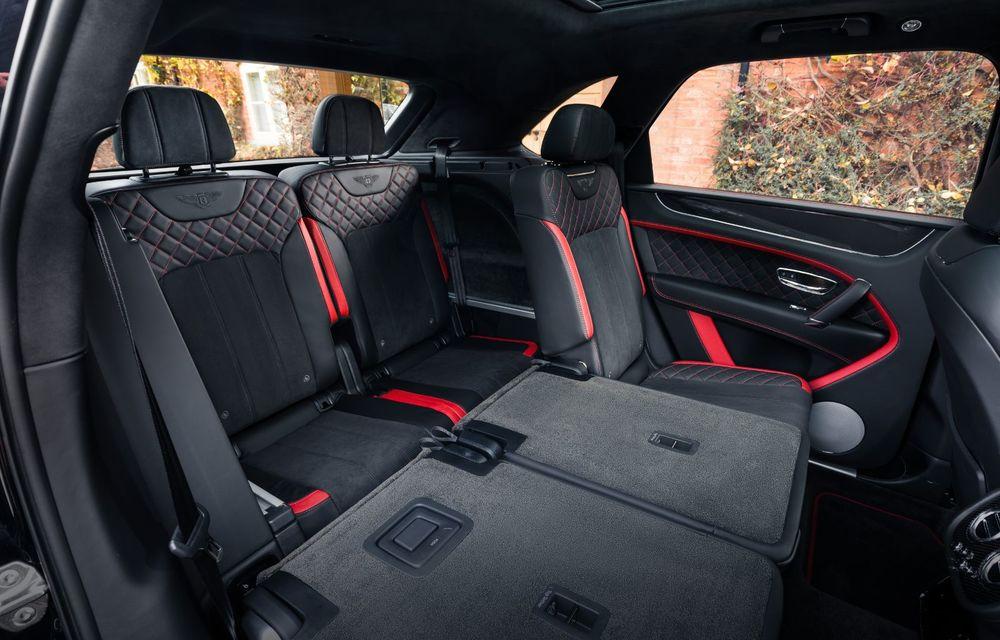 Versiuni noi pentru Bentley Bentayga: SUV-ul producătorului britanic va fi disponibil în variante cu patru sau șapte locuri - Poza 5