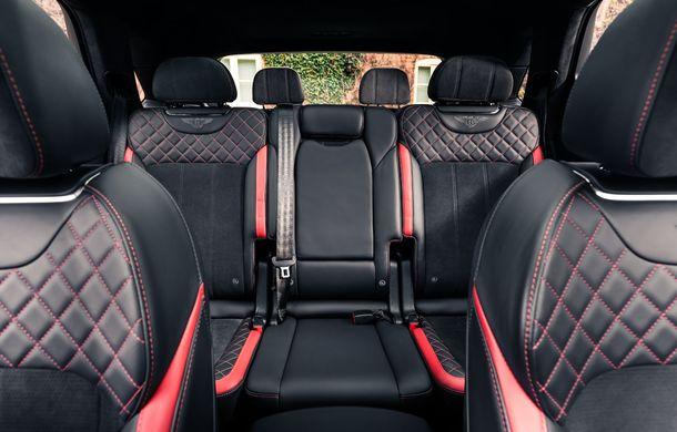 Versiuni noi pentru Bentley Bentayga: SUV-ul producătorului britanic va fi disponibil în variante cu patru sau șapte locuri - Poza 6