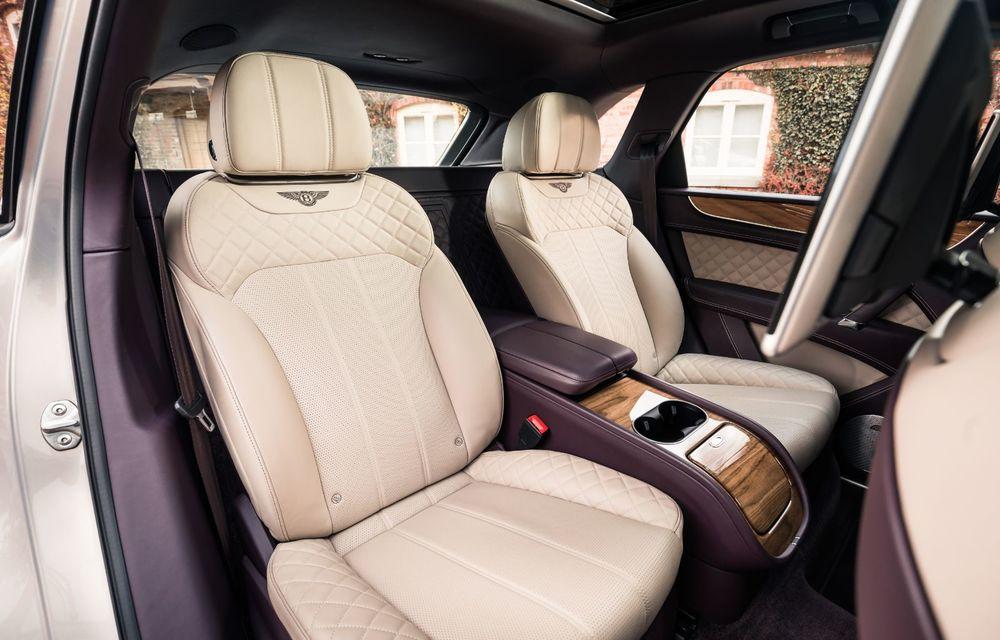 Versiuni noi pentru Bentley Bentayga: SUV-ul producătorului britanic va fi disponibil în variante cu patru sau șapte locuri - Poza 9