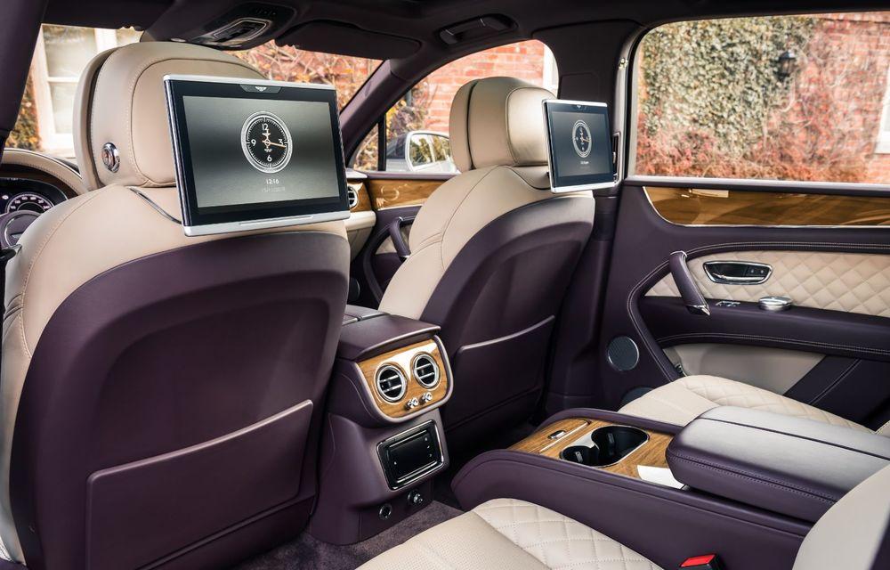 Versiuni noi pentru Bentley Bentayga: SUV-ul producătorului britanic va fi disponibil în variante cu patru sau șapte locuri - Poza 8