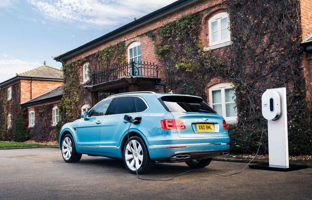 Versiuni noi pentru Bentley Bentayga: SUV-ul producătorului britanic va fi disponibil în variante cu patru sau șapte locuri - Poza 4